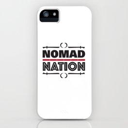 Nomad Nation iPhone Case