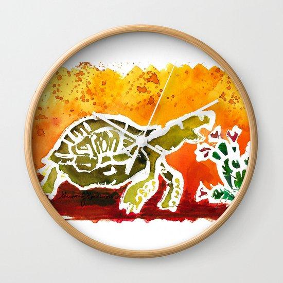 Tortoise Love Wall Clock