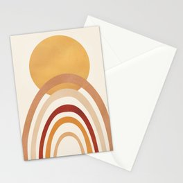 The Sun and a Rainbow II Stationery Cards