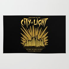 Welcome to the City of Light Rug