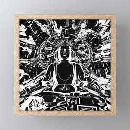 Hyper Zen Framed Mini Art Print