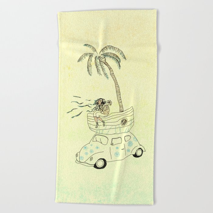 Travel Beach Towel