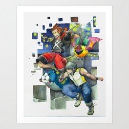 Dream Jumping Art Print