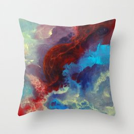 Everything begins with a spark Throw Pillow