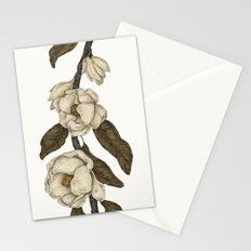 Magnolias Branch Stationery Cards