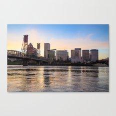 That Portland Skyline 2 Canvas Print