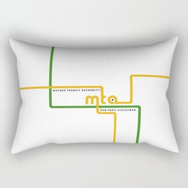 MTA cover Rectangular Pillow