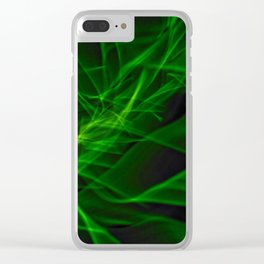 Glowstick Light painting Clear iPhone Case