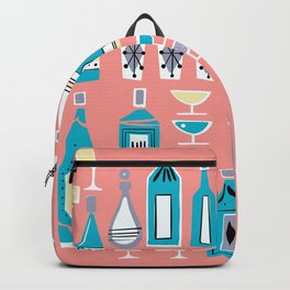Cocktails And Drinks In Aquas and Pinks Backpack