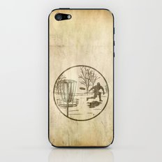 disc golfer iPhone & iPod Skin