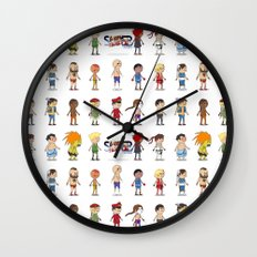 Super Street Fighter II Turbo Wall Clock