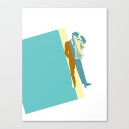Frank Steps Out Canvas Print