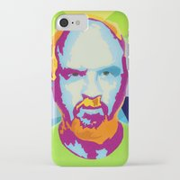 louis ck iPhone & iPod Cases featuring Louis CK by Danielle DePalma