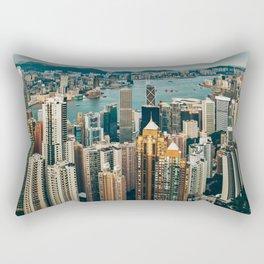 Golden Harbour Rectangular Pillow