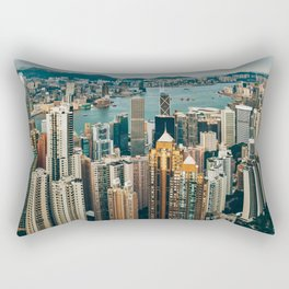 Golden Harbour Rectangular Pillow