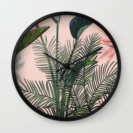 Looking for Paradise Wall Clock