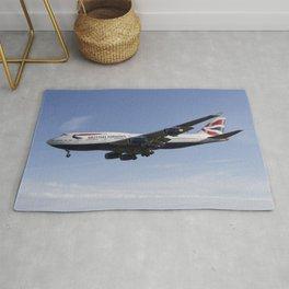 British Airways Boeing 747 Rug