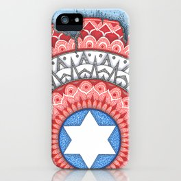 Captain (Star of David) America iPhone Case