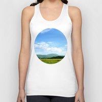 scotland Tank Tops featuring Highlands Scotland by seb mcnulty