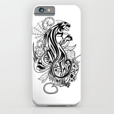 Panther - Black & White iPhone 6s Slim Case