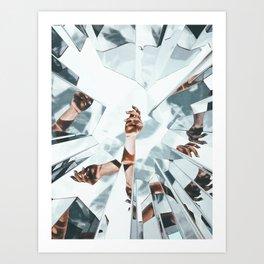 MiЯRorS Art Print