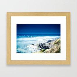 Hookipa Blue Sensation Framed Art Print