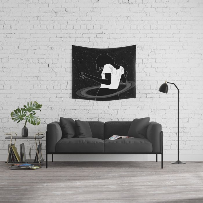 Saturn Wall Tapestry