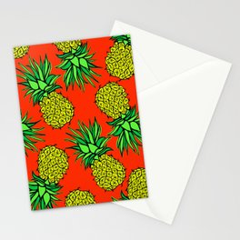 Pineapple Madness Stationery Cards