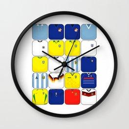 World In Motion II Wall Clock