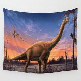 Jurassic Dinosaurs Wall Tapestry