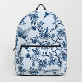 Classi Blue Chinoiserie Backpack