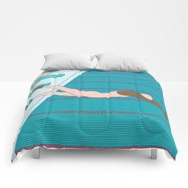 adriana aurora Comforters
