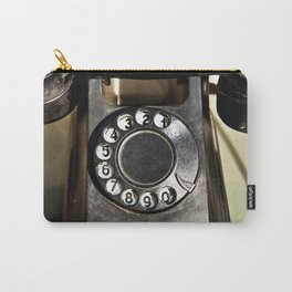 Retro rotary dial telephone Carry-All Pouch