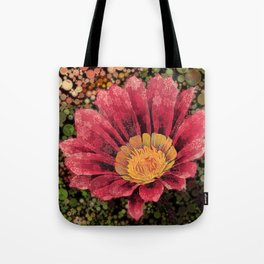 Gazania Bubbles Tote Bag
