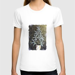 Christmas - Snowflake Tree D66 T-shirt