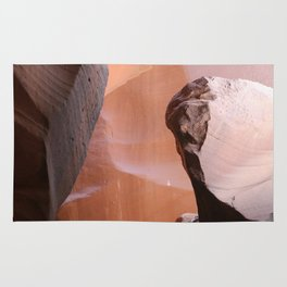 Natures Marvelous Composition - Antelope Canyon Shapes Rug