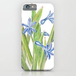 Wild hyacinth iPhone Case