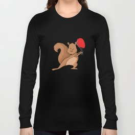 Talented Squirrel Long Sleeve T-shirt