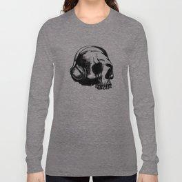 Skull DJ Long Sleeve T-shirt