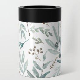 Eucalyptus pattern Can Cooler