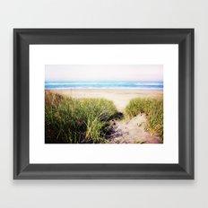 the call of the sea Framed Art Print