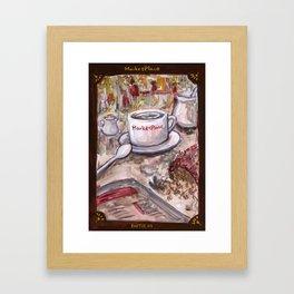 Afternoon Coffee Framed Art Print