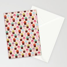 Cute Cupcakes Stationery Cards