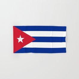 National flag of Cuba - Authentic version Hand & Bath Towel