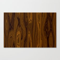 Wood Brown Canvas Print