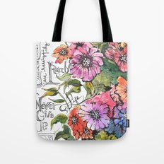 Travel Journal Tote Bag