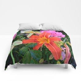 Beauty in the Garden Comforters