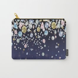 Fallling Gems Carry-All Pouch