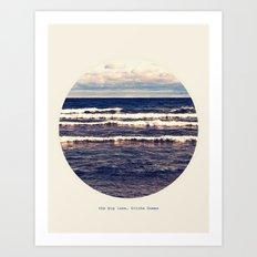 Gitche Gumee Art Print