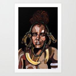 Africa '92 Art Print
